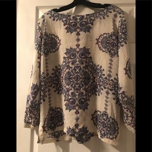 Club Monico 100% silk blouse